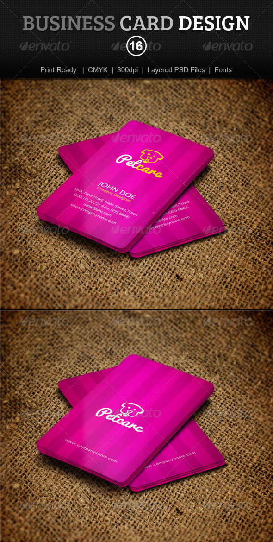 GraphicRiver Business Card Design 16 4075323