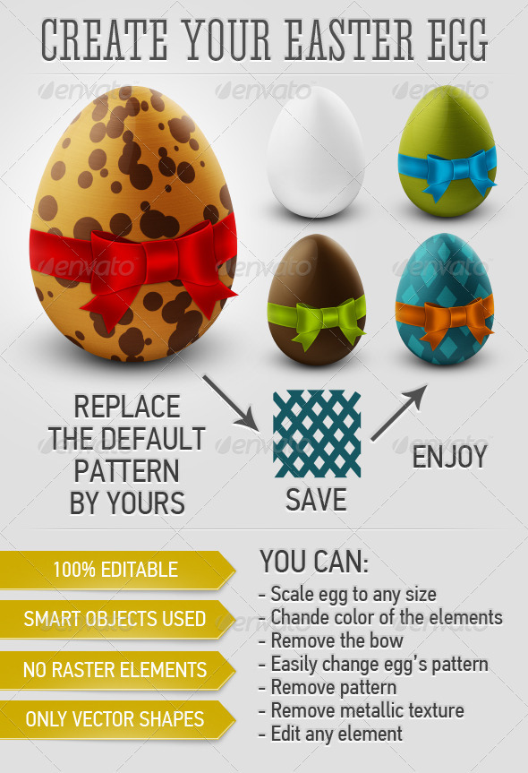 GraphicRiver Create Your Easter Egg 4075947