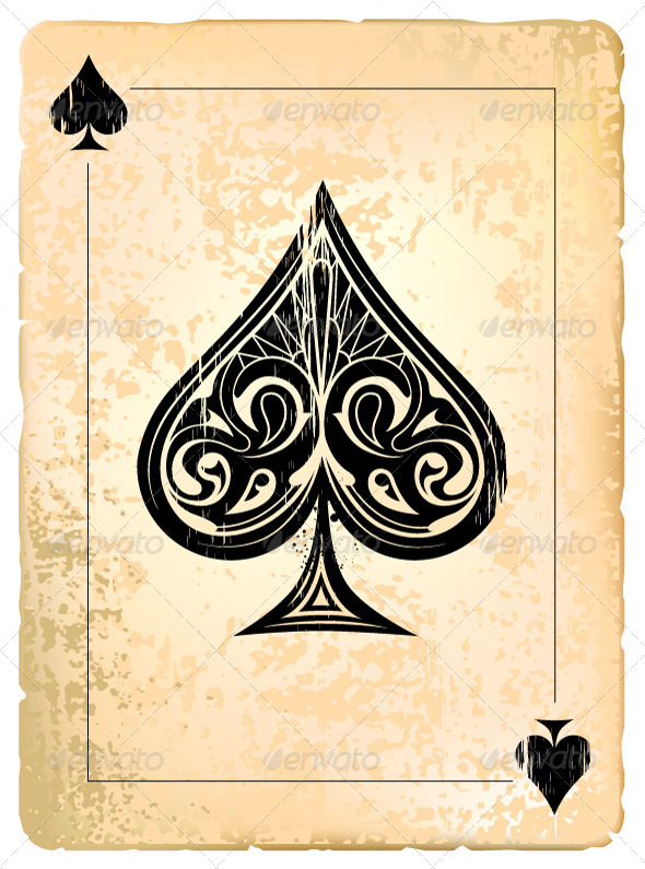 GraphicRiver Ace of Spades 4076005
