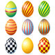 Download Vector Decorative Isolated Easter Eggs