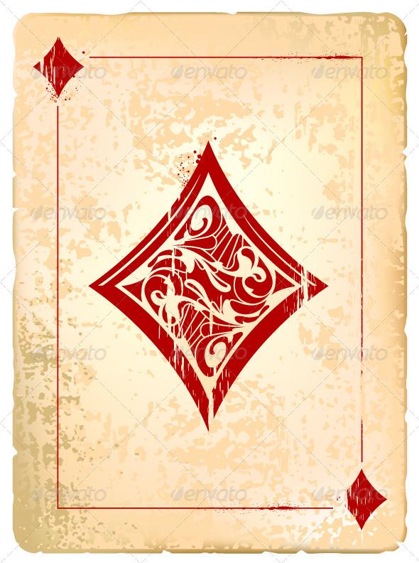 GraphicRiver Ace of Diamonds 4076173