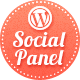 Social Panel for WordPress