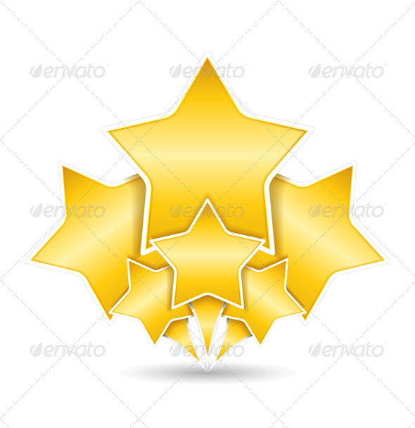 GraphicRiver Golden Stars 4077207