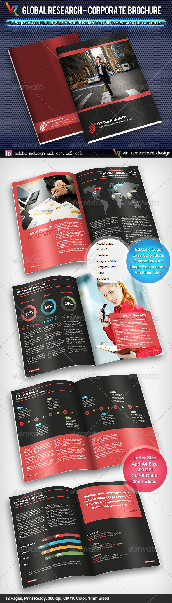 GraphicRiver Global Research Corporate Brochure 4077265