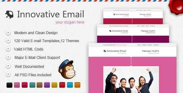 Innovative E-mail Template