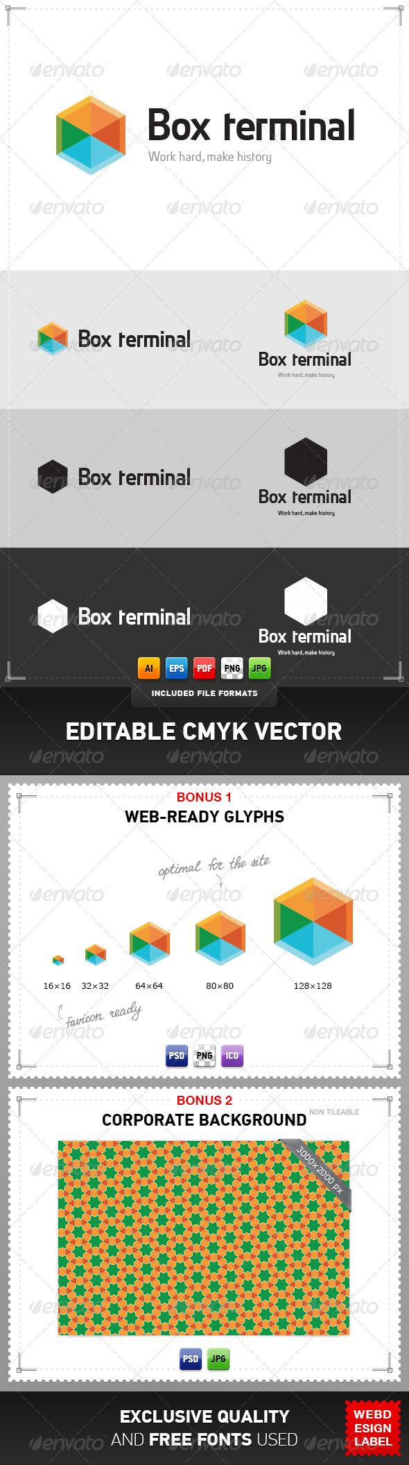 GraphicRiver Box Terminal Logo 4077300