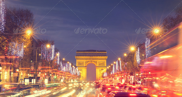 Champs-Elysées - Stock Photo - Images