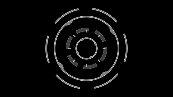 Hi-tech Interface Element 2