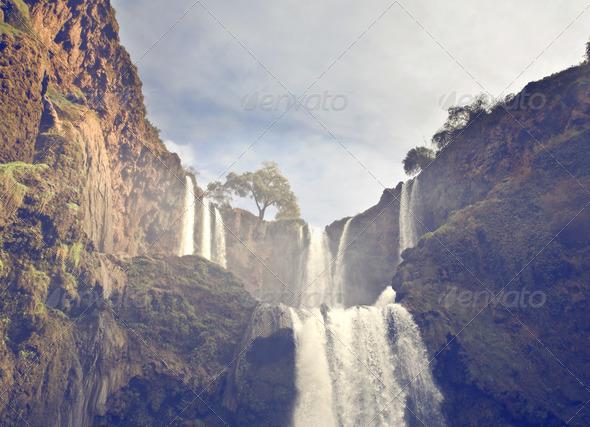 Waterfalls - Stock Photo - Images