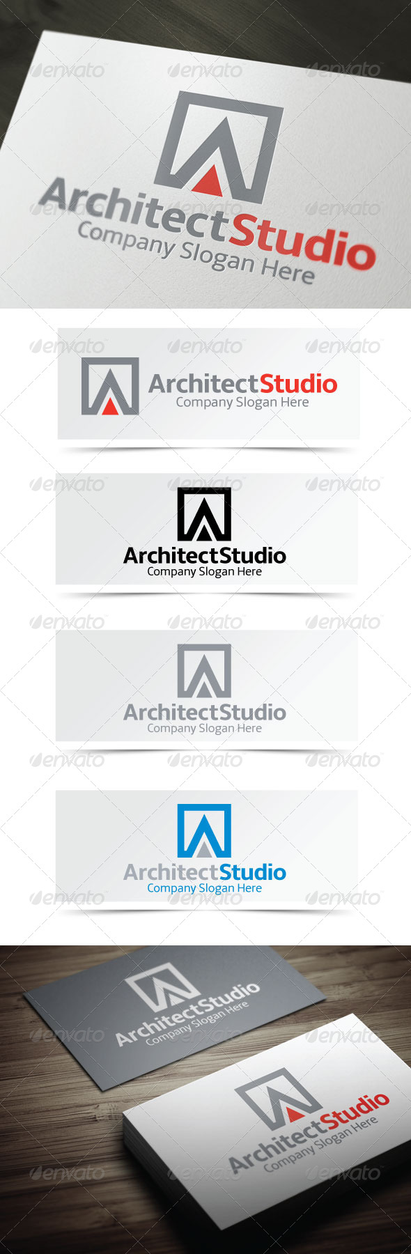 GraphicRiver Architect Studio 4079671