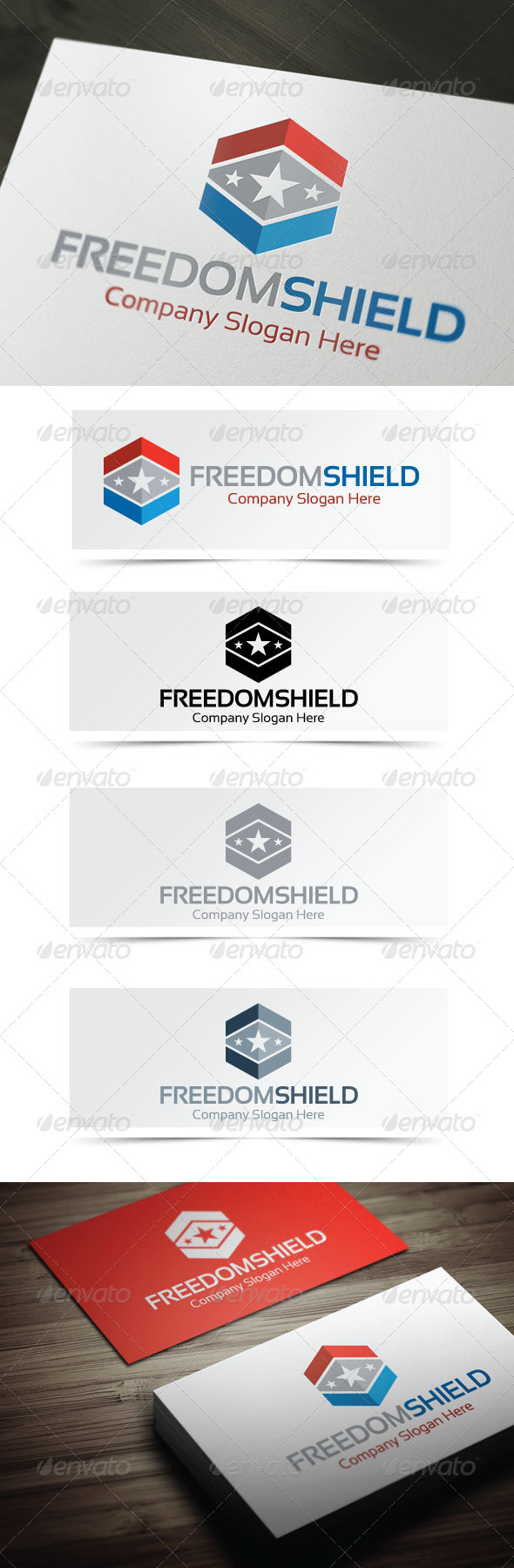 GraphicRiver Freedom Shield 4079769