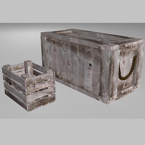 3DOcean Crate 4079776