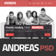 Andreas PSD Template - ThemeForest Item for Sale