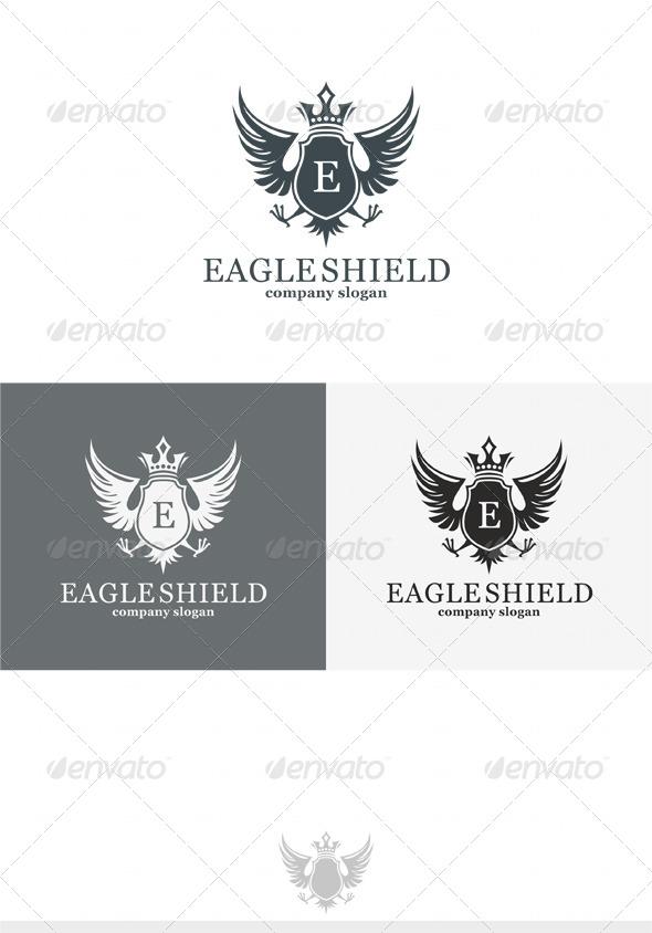 GraphicRiver Eagle Shield Logo 4079990