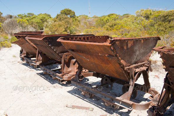 Rusty Train - Stock Photo - Images