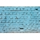Vintage blue background brickwall