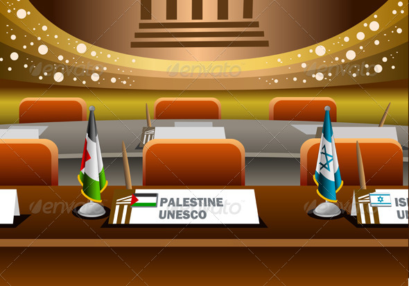 GraphicRiver Palestine Candidate for the Seat on Unesco 4080970