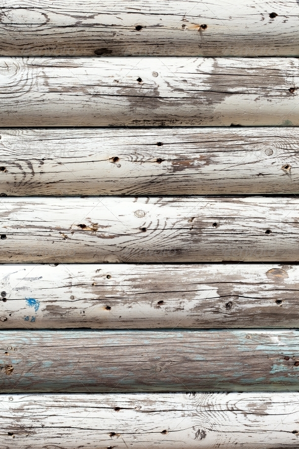 GraphicRiver grungy white background of natural wood 4081043