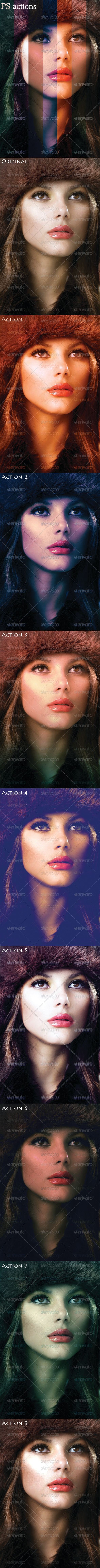 GraphicRiver Photo Effects PS Actions 4081163
