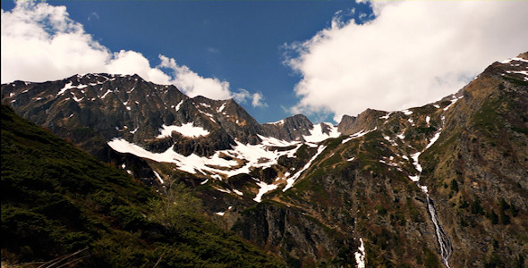 Mountain Peaks Timelapse