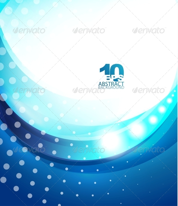 GraphicRiver Blue Wave Business Template 4081570