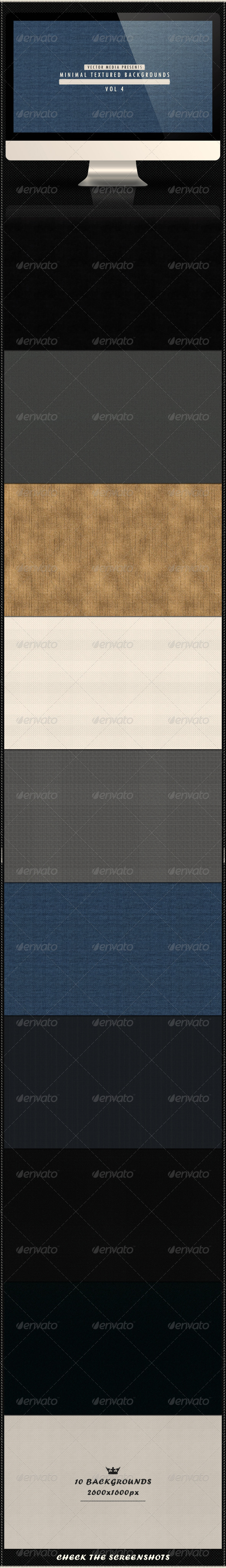 GraphicRiver Minimal Textured Backgrounds Vol 4 4081571