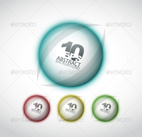 GraphicRiver Techno Hi-Tech Circle 4081659