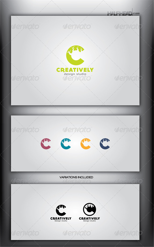 GraphicRiver CREATIVELY Logo Template 4081666