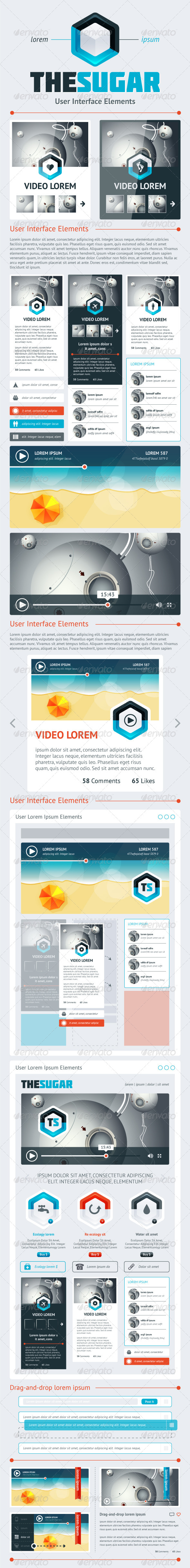 GraphicRiver Elements of Infographics with Buttons and Menus 4081670