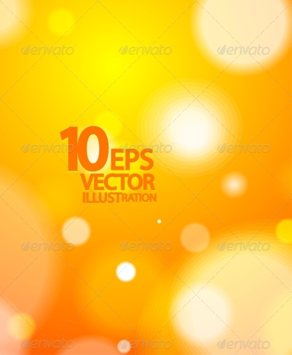 GraphicRiver Abstract Vector Blurred Light Background 4081816