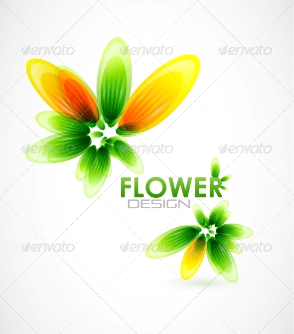 GraphicRiver Abstract Flower Background 4081858