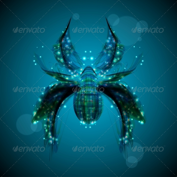 GraphicRiver Abstract Spider 4081939