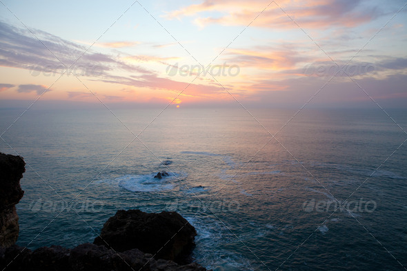 PhotoDune Nazare sunset 4082235