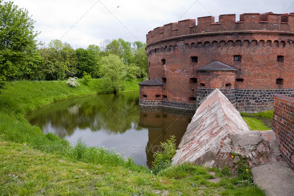 PhotoDune Old fort in the city of Kaliningrad 4082516