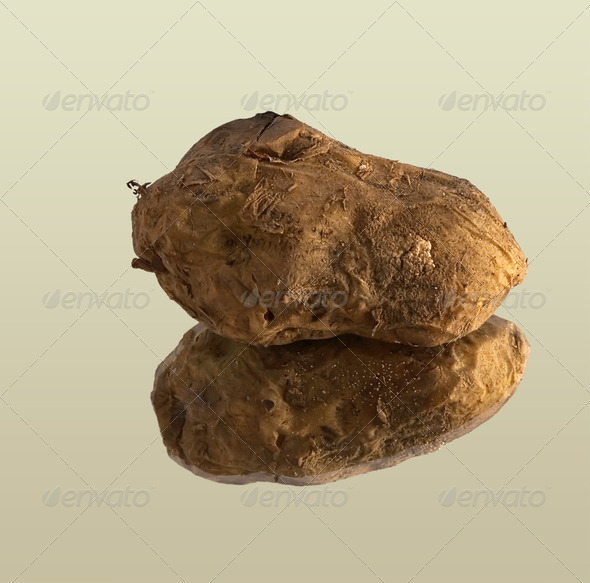 PhotoDune Potato fried on a mangal 4082686