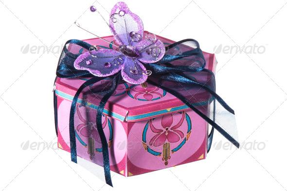 PhotoDune Small gift box 4082857