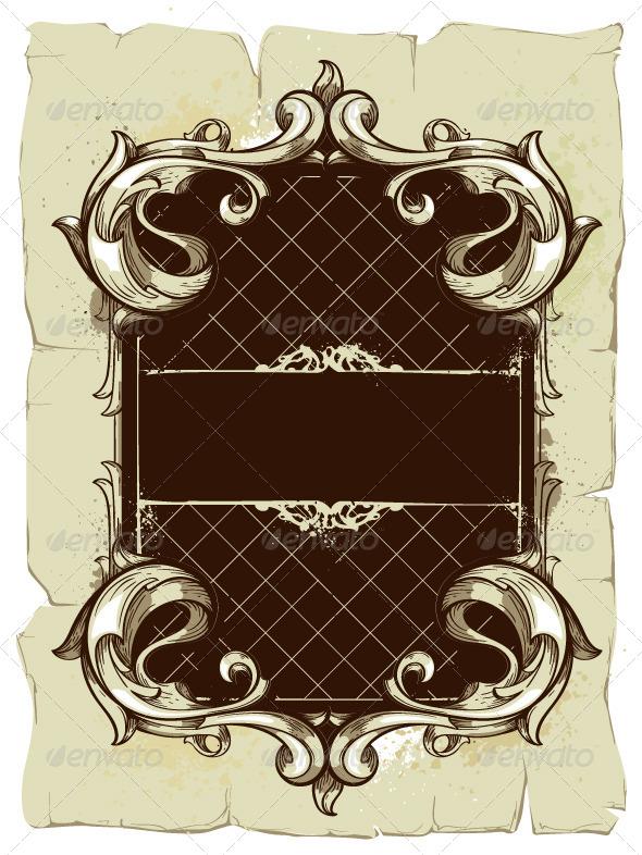 GraphicRiver Vintage Frame 4082847