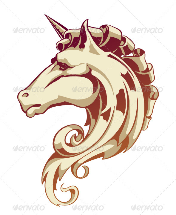 GraphicRiver Horse Head 4083003