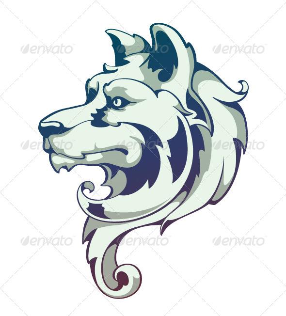 GraphicRiver Wolf Head 4083220