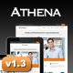 Athena Simple Flexible Corporate Business Theme - ThemeForest Item for Sale