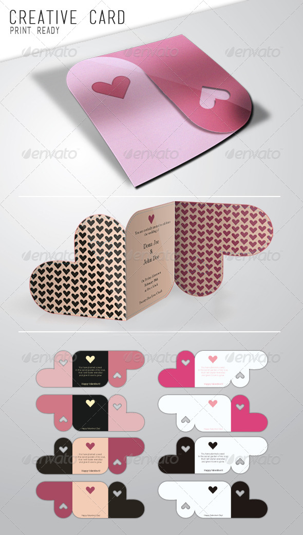 Creative Card - Cards & Invites Print Templates