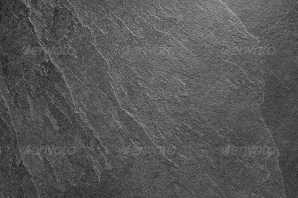 Black Slate - Stock Photo - Images