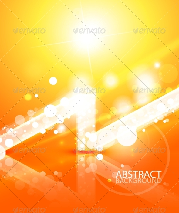 GraphicRiver Vector Abstract Lights Background 4083592