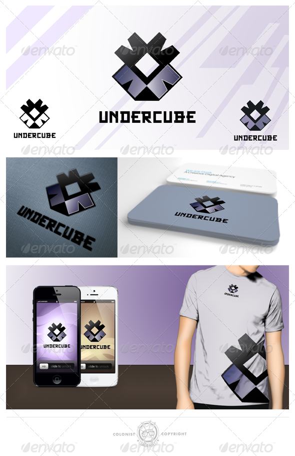 GraphicRiver Undecube Logo 4021624