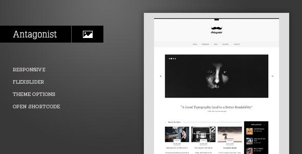 Antagonist - Responsive Portfolio WordPress Theme