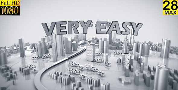 VideoHive Zoom Out City Logo 4058162