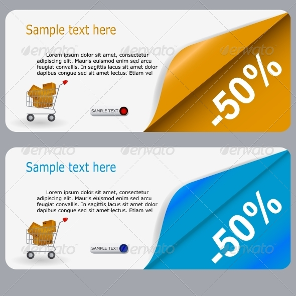 GraphicRiver Sale Banner with Place for your Text 4083808