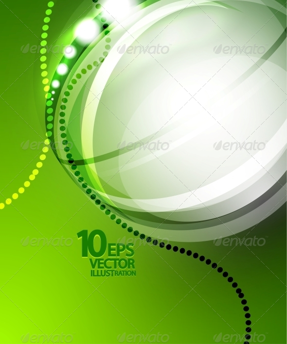 GraphicRiver Futuristic Bubble Background 4083811