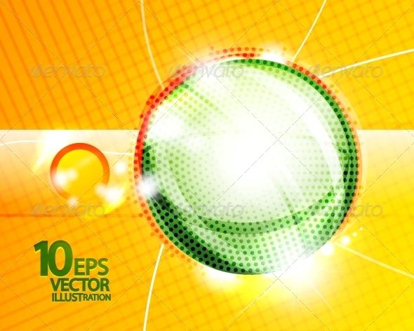 GraphicRiver Hi-Tech Shiny Techno Bubble Background 4083875