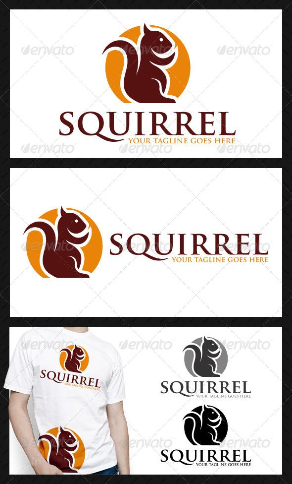 GraphicRiver Squirrel Logo Template 4083886